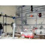 монтаж водопровода торгового комплекса магнит
